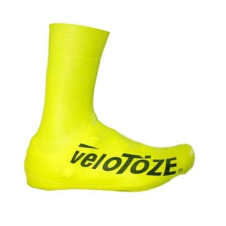 VELOTOZE TALL SHOE COVER ROAD 2.0 YELLOW